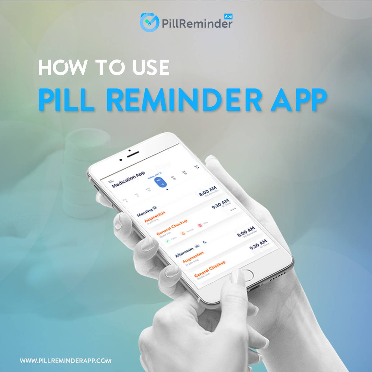 How to Use Pill Reminder App